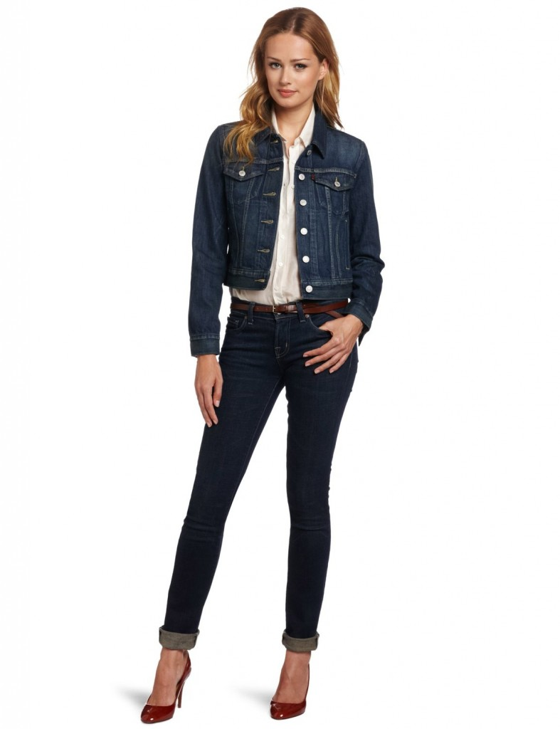 Levi's Women's Authentic Cropped Trucker Jacket
